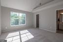 Master bedroom has walk in closet with safe - 3968 HARTLAKE ST, WOODBRIDGE
