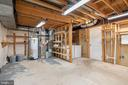 unfinished area of basement  can be finished - 3968 HARTLAKE ST, WOODBRIDGE