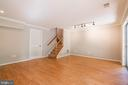 laminate floors in Basement rec room - 3968 HARTLAKE ST, WOODBRIDGE