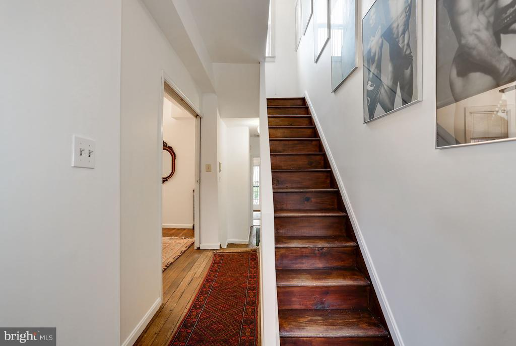 Stairs to Third Floor - 1928 15TH ST NW, WASHINGTON