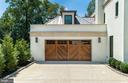 26x23 garage w/ mahogany door - 6404 GARNETT DR, CHEVY CHASE