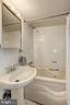 Lower Level Full Bathroom - 1828 POTOMAC AVE SE, WASHINGTON