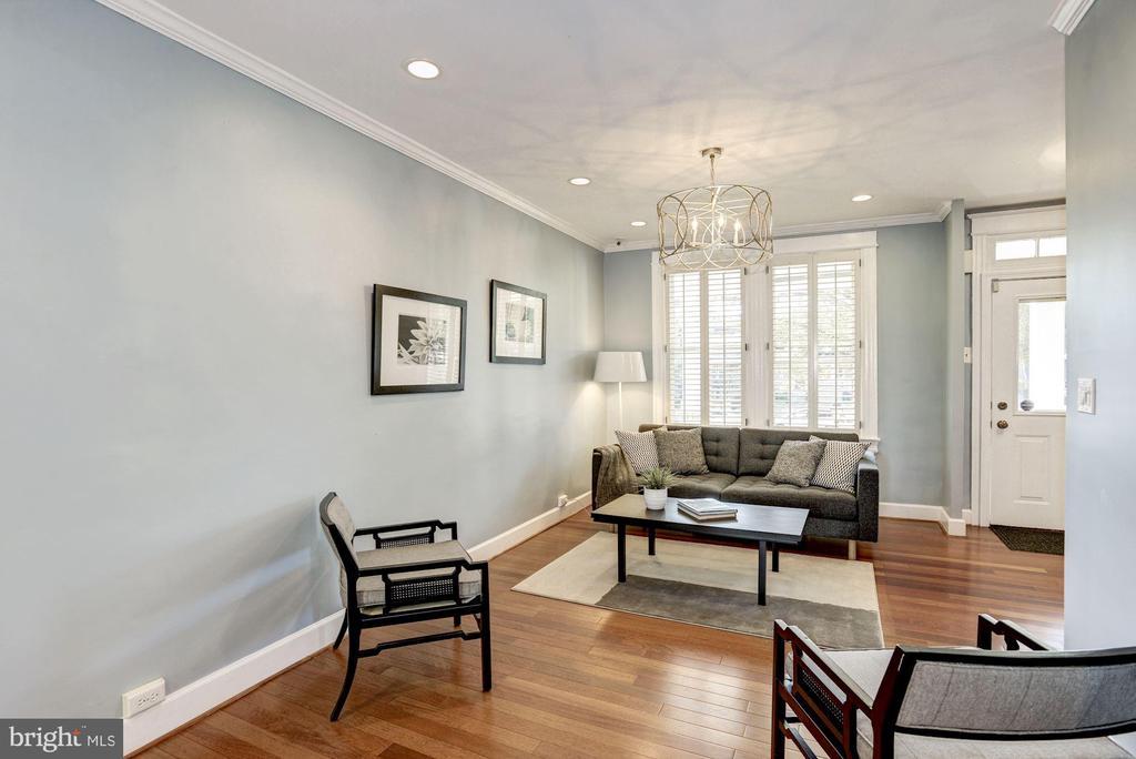Recently Refreshed Living Room - 1828 POTOMAC AVE SE, WASHINGTON