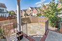 Fenced Stone Patio - 7874 PROMONTORY CT, DUNN LORING