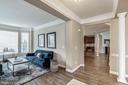 Foyer/Living Room - 7874 PROMONTORY CT, DUNN LORING