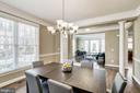 Dining Room/Living Room - 7874 PROMONTORY CT, DUNN LORING