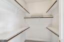 Master Bedroom Walk In Closet - 7874 PROMONTORY CT, DUNN LORING