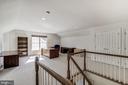 Upper Level 2 Loft/Den/Study/Office - 7874 PROMONTORY CT, DUNN LORING