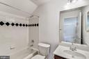 Lower Level Full Bath - 7874 PROMONTORY CT, DUNN LORING