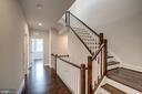 Gramercy Park Staircase - 42468 MILDRED LANDING SQ, ASHBURN