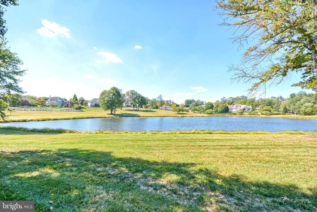 Views of community pond - 5223 FAIRGREENE WAY, IJAMSVILLE
