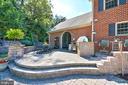 Hardscape patio with out door kitchen - 5223 FAIRGREENE WAY, IJAMSVILLE