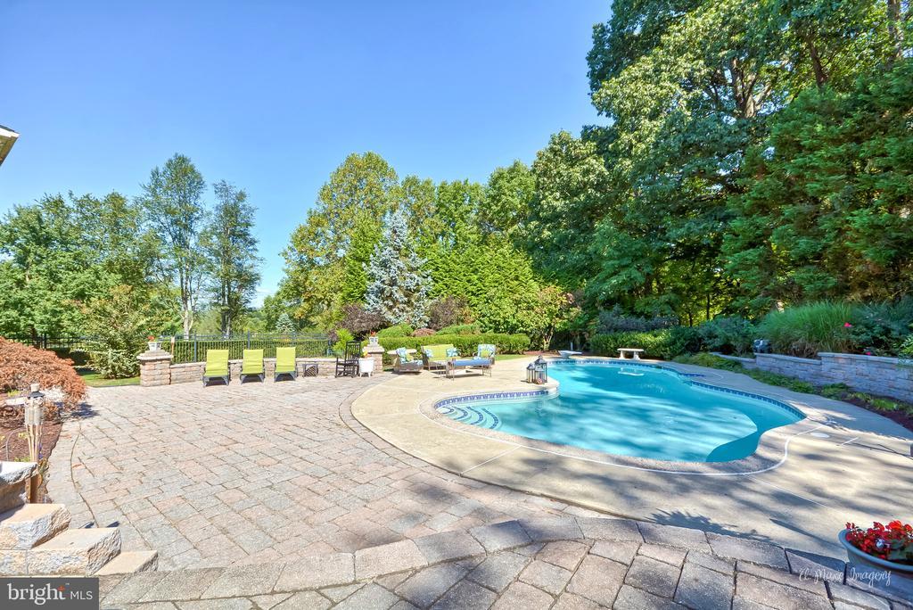 Views of pool area - 5223 FAIRGREENE WAY, IJAMSVILLE