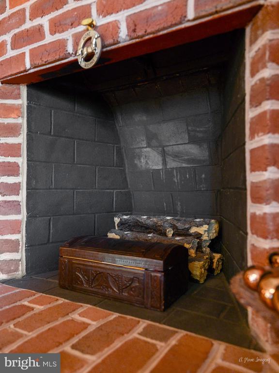 Master bedroom-wood burning fireplace - 5223 FAIRGREENE WAY, IJAMSVILLE