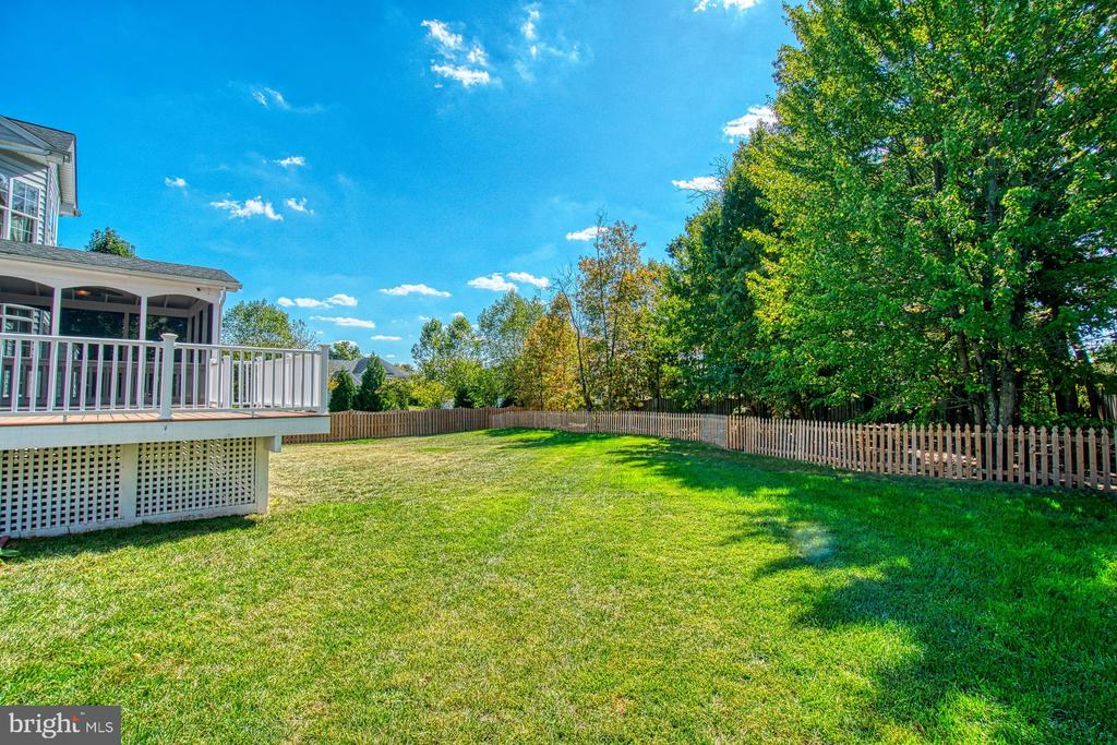 Gorgeous Flat Backyard - 1/2 Acre Lot - 42763 FOREST CREST CT, ASHBURN