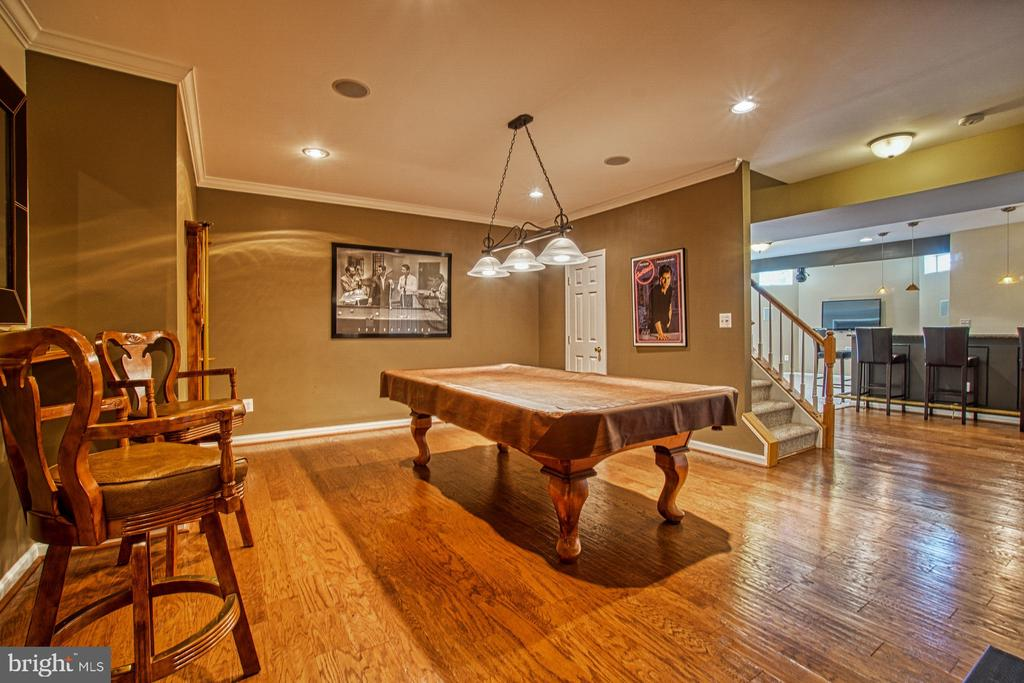 Gorgeous Game Room - 42763 FOREST CREST CT, ASHBURN