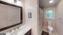 Hallway Full Bathroom with jacuzzi tub - 10288 MONCURE DR, RUTHER GLEN