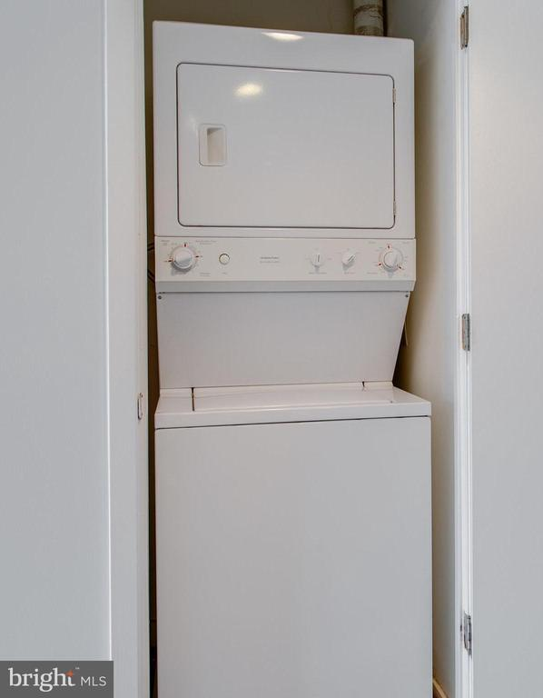Laundry in-unit - 3883 CONNECTICUT AVE NW #707, WASHINGTON