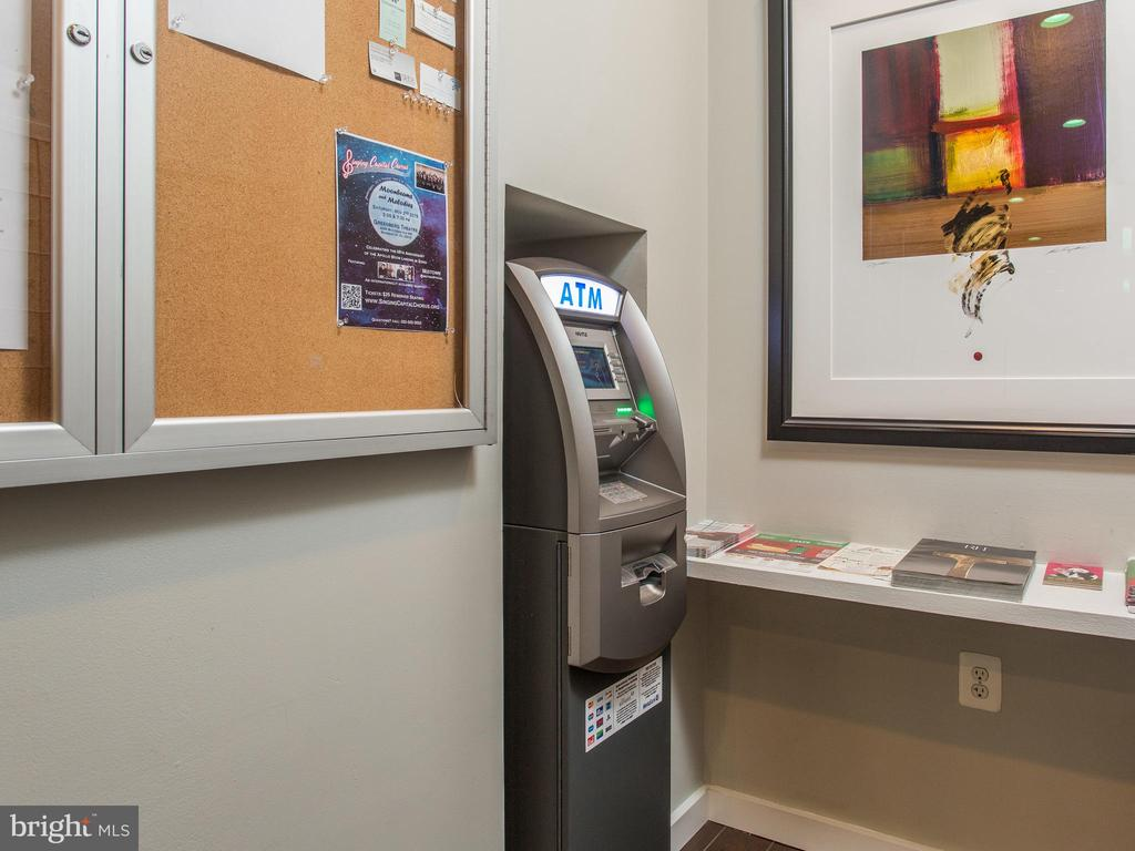 ATM in building - 3883 CONNECTICUT AVE NW #707, WASHINGTON