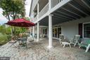 Stamped concrete patio - 126 HARRISON CIR, LOCUST GROVE