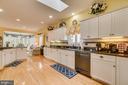 Kitchen has skylights - 126 HARRISON CIR, LOCUST GROVE