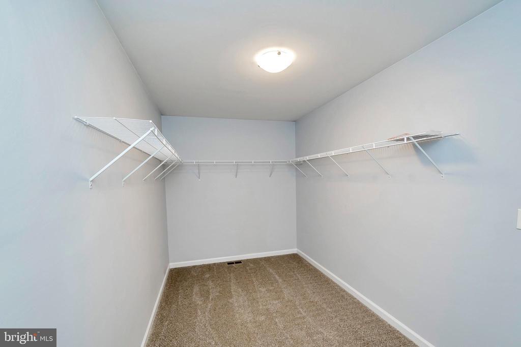 A master closet of your dreams!! - 4152 JARRELLS WAY, BURR HILL