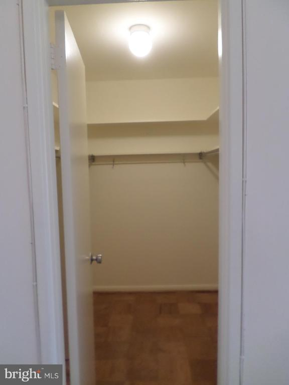 Walk-in closet in bedroom - 2939 VAN NESS ST NW #726, WASHINGTON