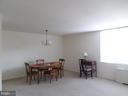 Dining-room table and desk space - 2939 VAN NESS ST NW #726, WASHINGTON