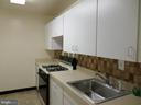 Kitchen cabinets and sink - 2939 VAN NESS ST NW #726, WASHINGTON