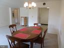 Dining to kitchen and living room - 2939 VAN NESS ST NW #726, WASHINGTON