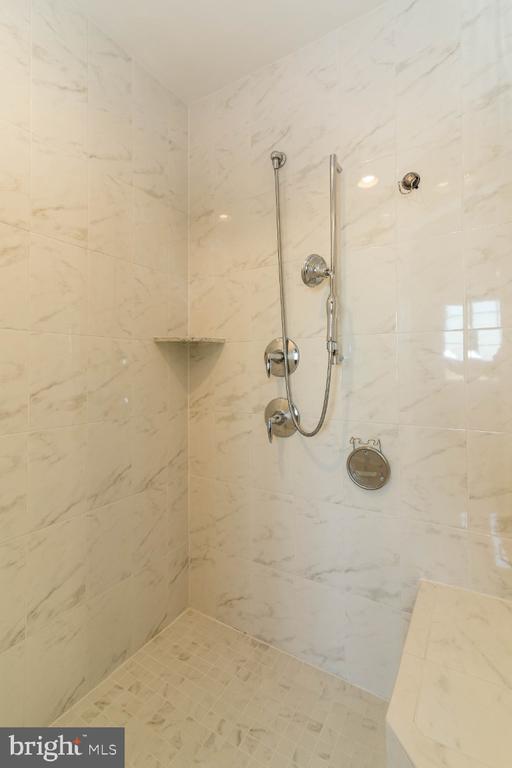 Spa like shower - 15475 BERKHAMSTEAD PL, LEESBURG