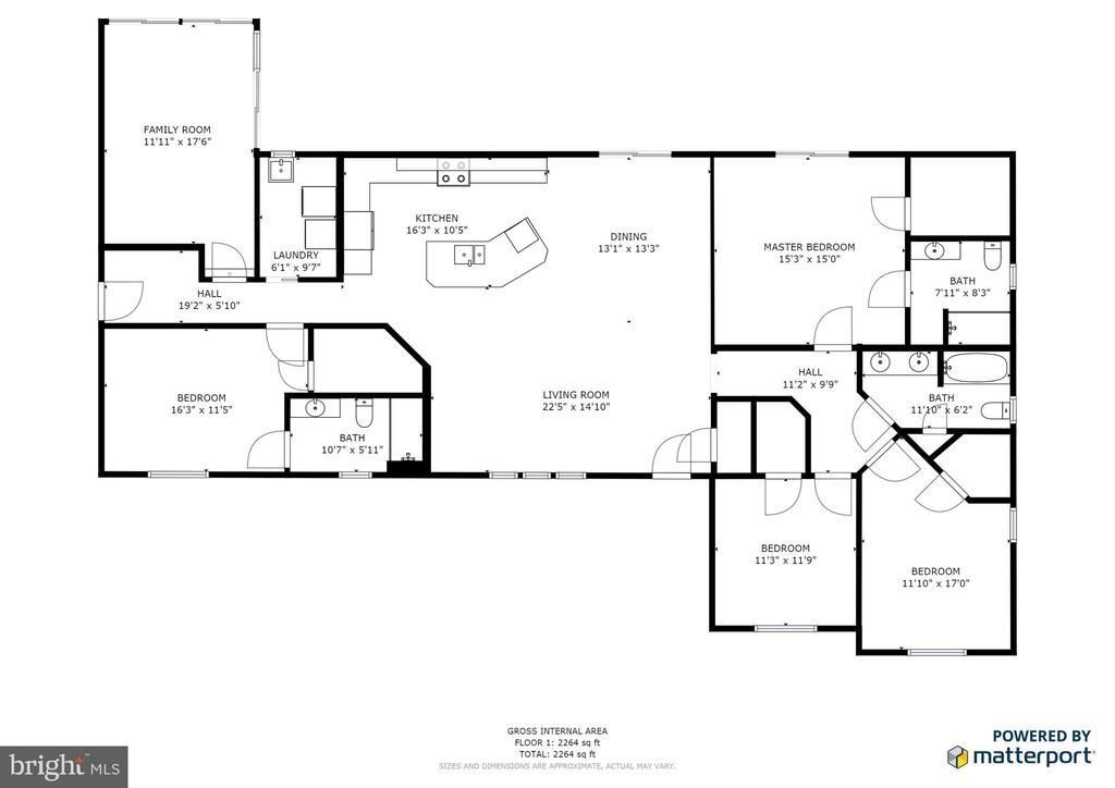 floor plan - 10288 MONCURE DR, RUTHER GLEN