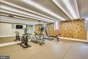 climbing wall, speakers, in-floor power hubs - 6404 GARNETT DR, CHEVY CHASE