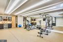 24x18 gym w/ beverage center, rubber floor - 6404 GARNETT DR, CHEVY CHASE