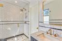 bathroom two - 6404 GARNETT DR, CHEVY CHASE