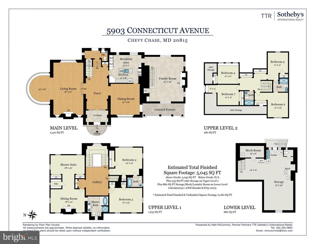 Floor Plan - 5903 CONNECTICUT AVE, CHEVY CHASE