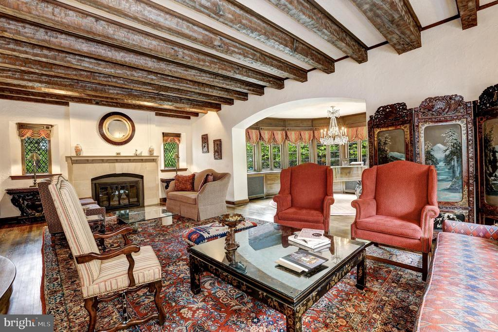 Gracious Living Room - 5903 CONNECTICUT AVE, CHEVY CHASE