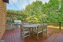Newer Built-in Gas BBQ Area on Deck - 1607 FIELDING LEWIS WAY, MCLEAN
