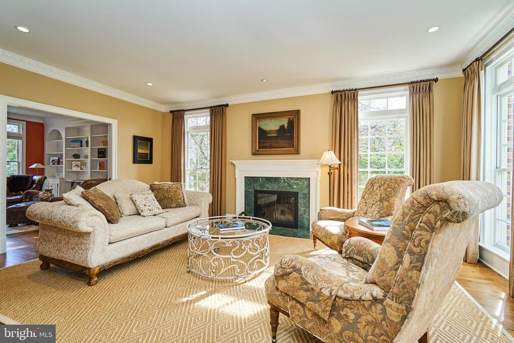 Hardwood Floors and Custom Drapery - 1607 FIELDING LEWIS WAY, MCLEAN
