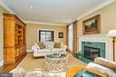 Formal Living Room with 1 of 4 Fireplaces - 1607 FIELDING LEWIS WAY, MCLEAN