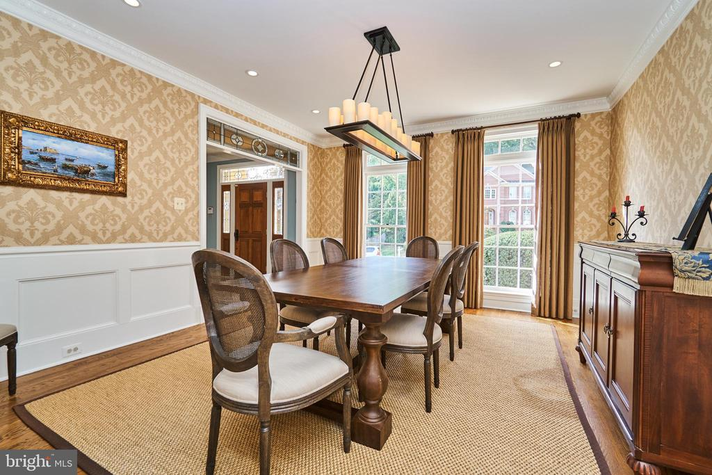 Formal Dining Room - 1607 FIELDING LEWIS WAY, MCLEAN