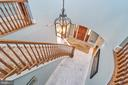 Architecturally Gorgeous Staircase - 1607 FIELDING LEWIS WAY, MCLEAN