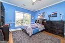 Secondary Bedroom with Hardwood - 1607 FIELDING LEWIS WAY, MCLEAN