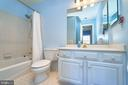 Full Bathroom Off Secondary Bedroom - 1607 FIELDING LEWIS WAY, MCLEAN