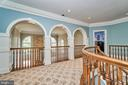 Upper Level Hallway - 1607 FIELDING LEWIS WAY, MCLEAN