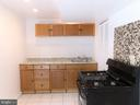 Basement Kitchen - 2800 N PERSHING DR, ARLINGTON