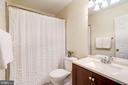 updated hall bath - 25272 RIPLEYS FIELD DR, CHANTILLY