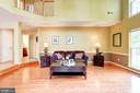 hardwoods in living space. - 25272 RIPLEYS FIELD DR, CHANTILLY