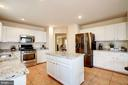 updated kitchen - 25272 RIPLEYS FIELD DR, CHANTILLY