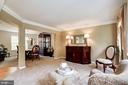 front living room/dining - 25272 RIPLEYS FIELD DR, CHANTILLY